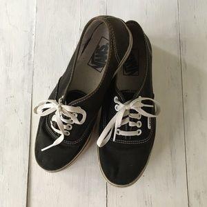 Vans Black Shoes (7.5)